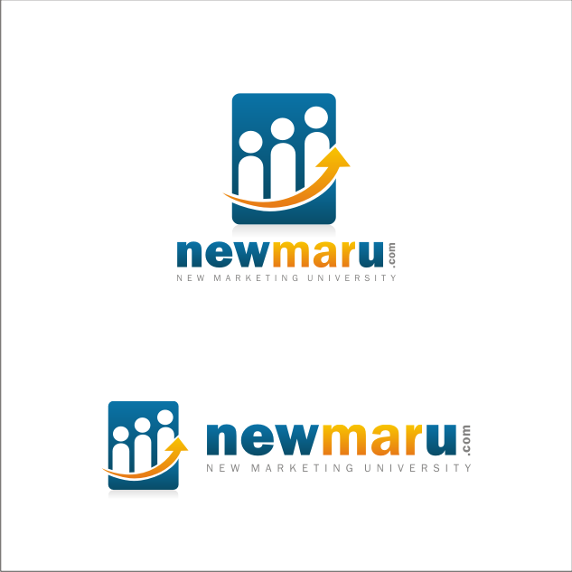 Logo Design by key - Entry No. 141 in the Logo Design Contest NewMarU.com (New Marketing University).