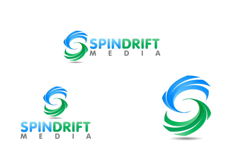 Logo Design by Private User - Entry No. 17 in the Logo Design Contest Inspiring Logo Design for Spindrift Media.