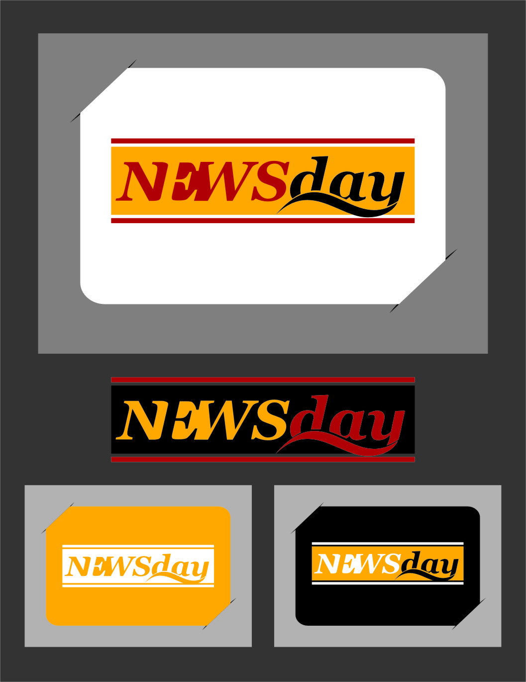 Logo Design by Ngepet_art - Entry No. 38 in the Logo Design Contest Artistic Logo Design for Newsday.