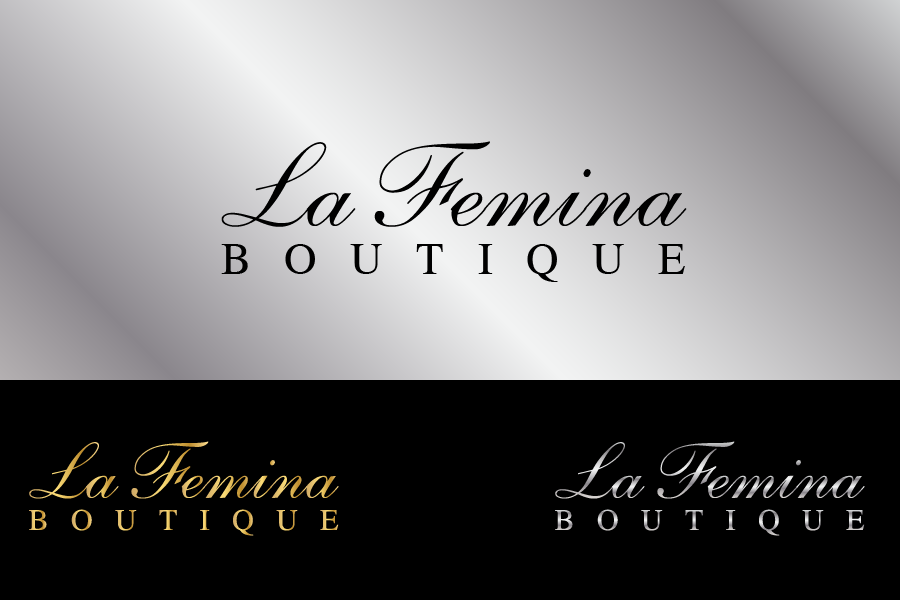 Logo Design by Private User - Entry No. 1 in the Logo Design Contest La Femina Boutique Logo Design.