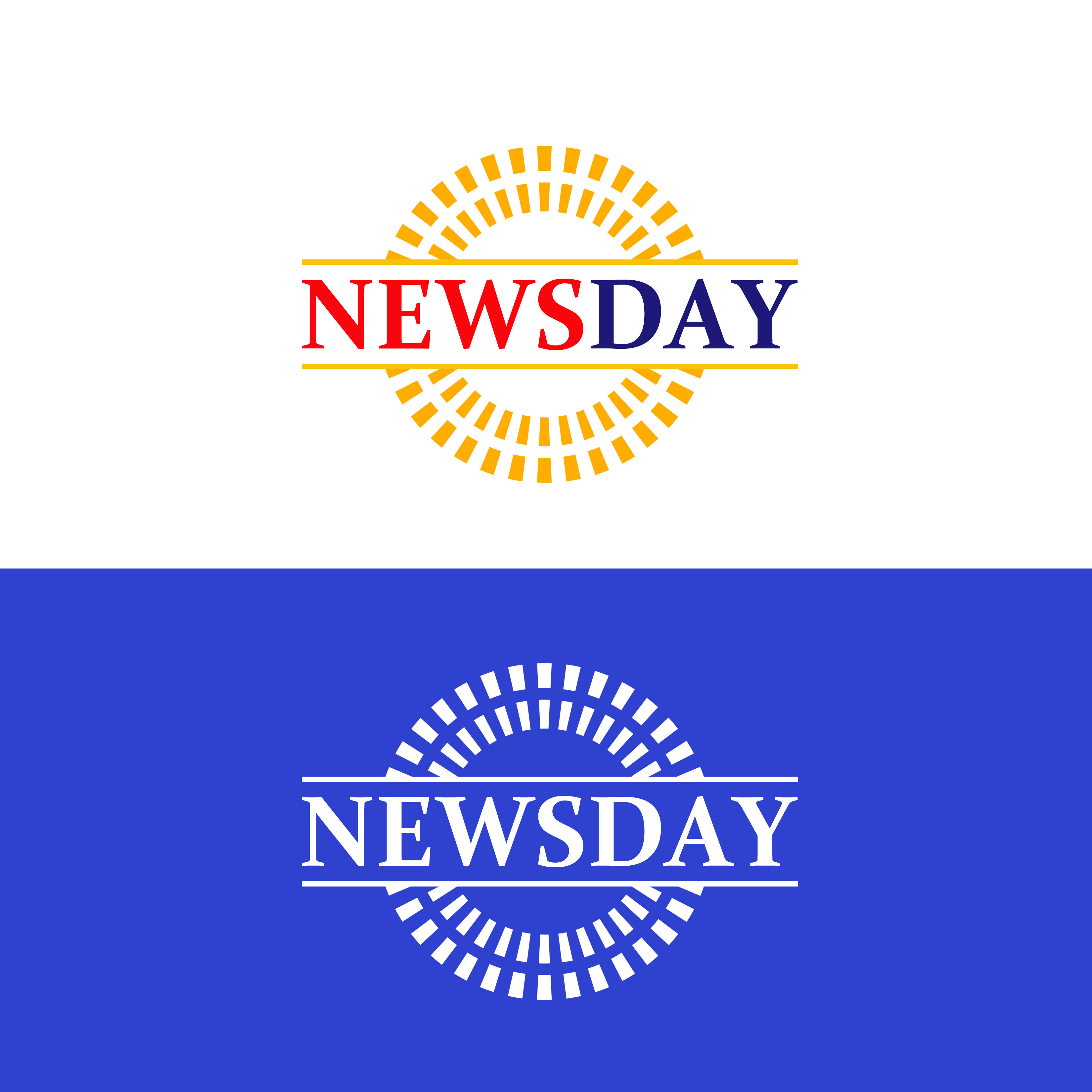 Logo Design by Allan Esclamado - Entry No. 40 in the Logo Design Contest Artistic Logo Design for Newsday.