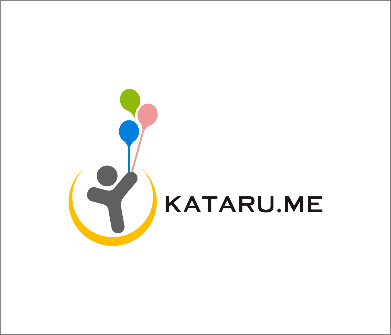 Logo Design by Armada Jamaluddin - Entry No. 58 in the Logo Design Contest Inspiring Logo Design for KATARU.ME.