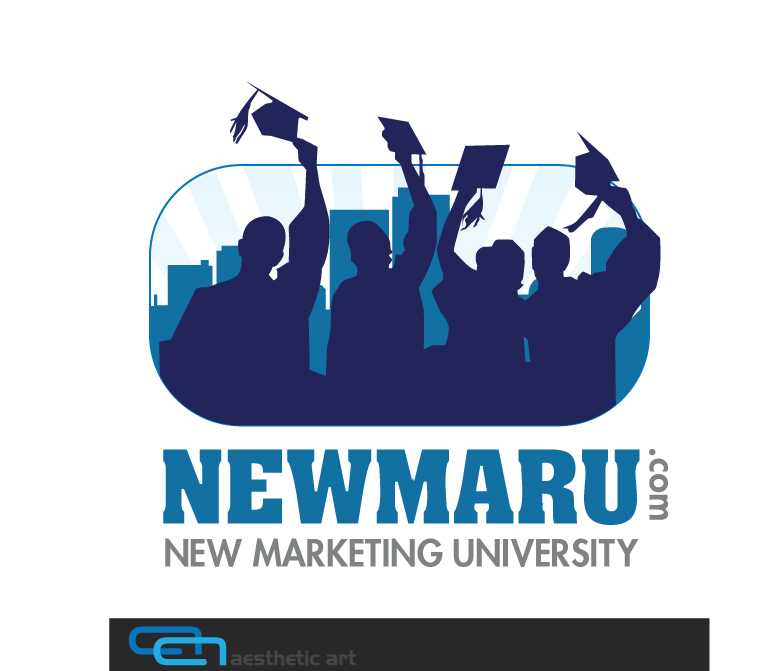 Logo Design by aesthetic-art - Entry No. 144 in the Logo Design Contest NewMarU.com (New Marketing University).