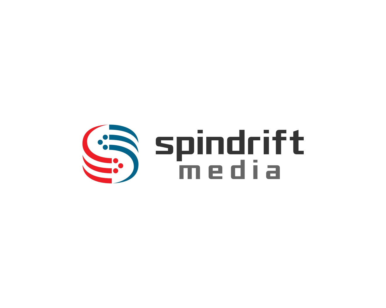 Logo Design by Rares.Andrei - Entry No. 20 in the Logo Design Contest Inspiring Logo Design for Spindrift Media.