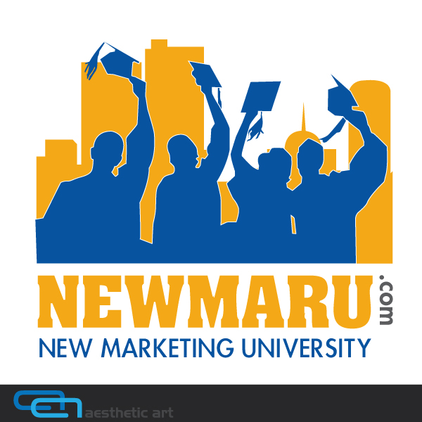 Logo Design by aesthetic-art - Entry No. 147 in the Logo Design Contest NewMarU.com (New Marketing University).