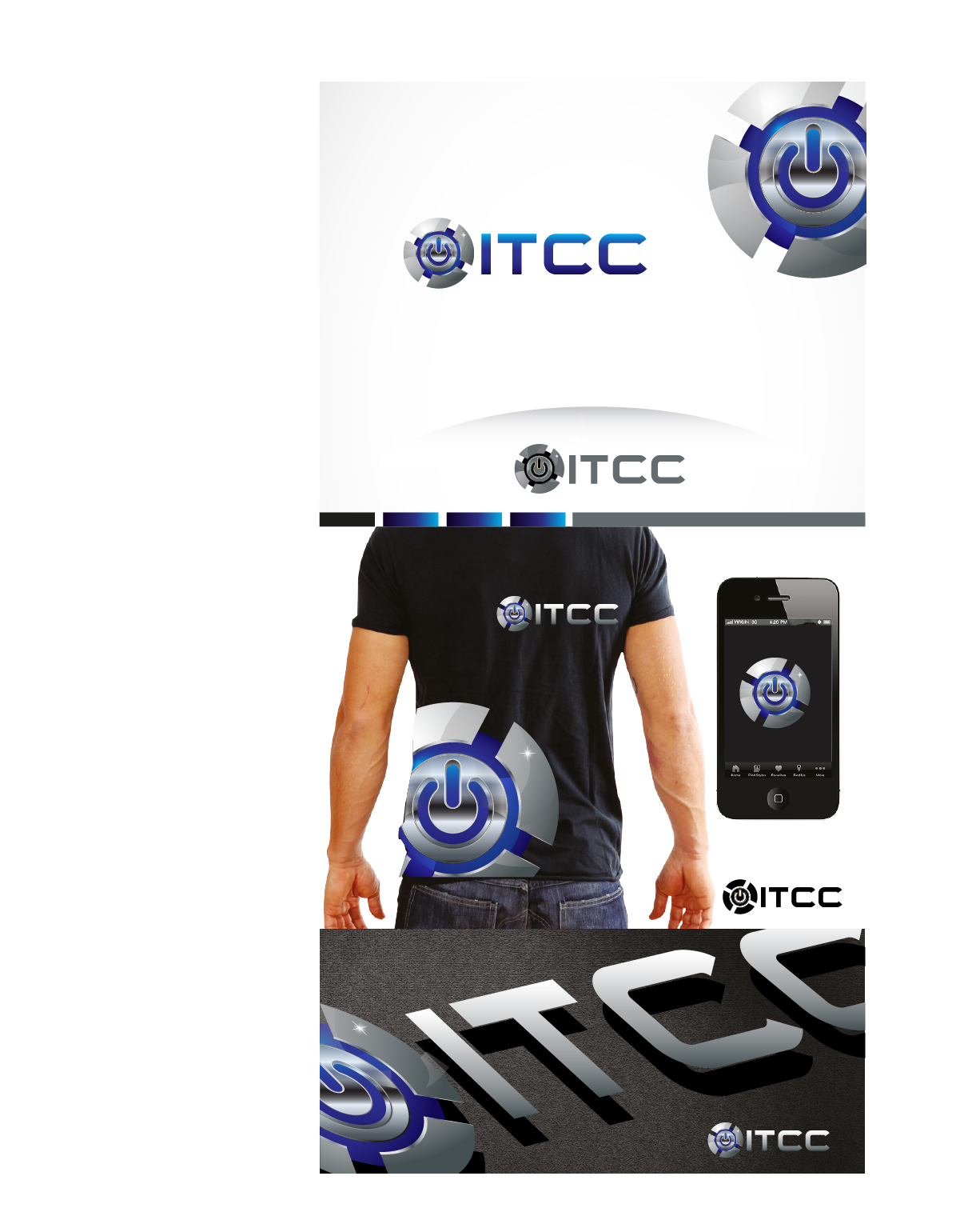 Logo Design by Private User - Entry No. 102 in the Logo Design Contest Inspiring Logo Design for ITCC.