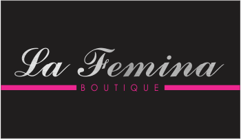 Logo Design by Fortune Moyo - Entry No. 2 in the Logo Design Contest La Femina Boutique Logo Design.
