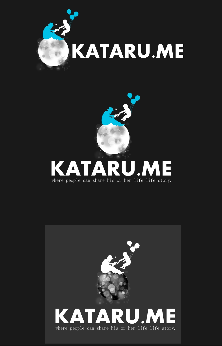 Logo Design by Private User - Entry No. 63 in the Logo Design Contest Inspiring Logo Design for KATARU.ME.
