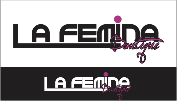 Logo Design by Fortune Moyo - Entry No. 4 in the Logo Design Contest La Femina Boutique Logo Design.