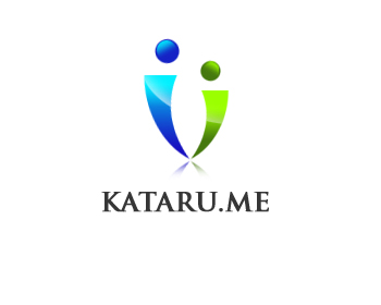 Logo Design by Crystal Desizns - Entry No. 65 in the Logo Design Contest Inspiring Logo Design for KATARU.ME.