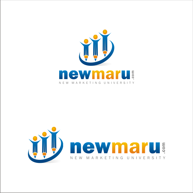 Logo Design by key - Entry No. 148 in the Logo Design Contest NewMarU.com (New Marketing University).