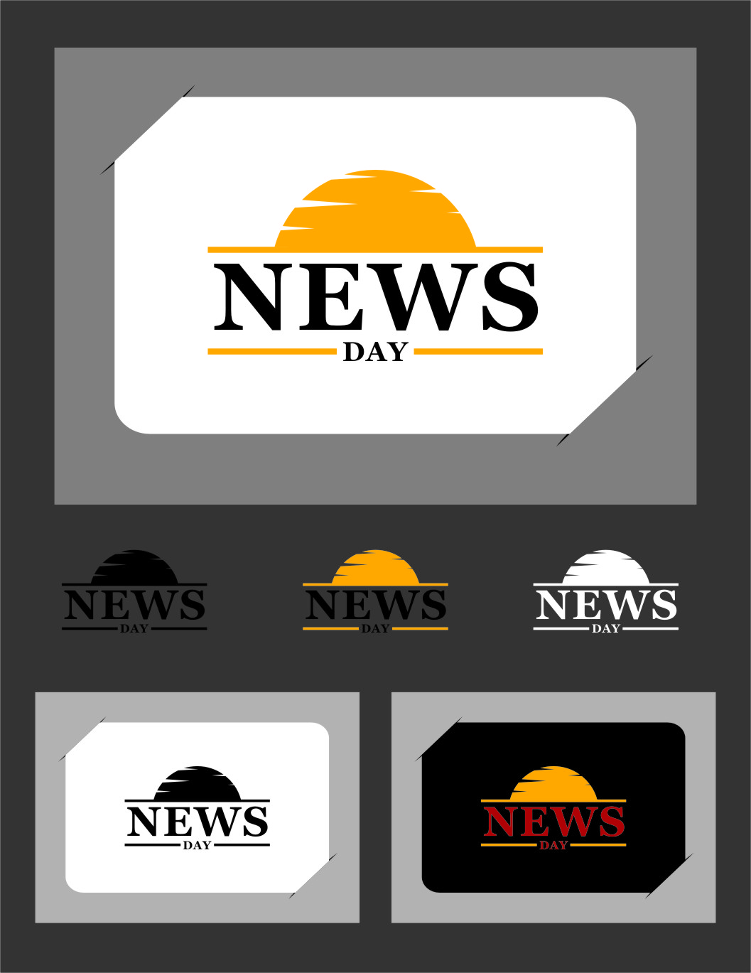 Logo Design by RasYa Muhammad Athaya - Entry No. 48 in the Logo Design Contest Artistic Logo Design for Newsday.