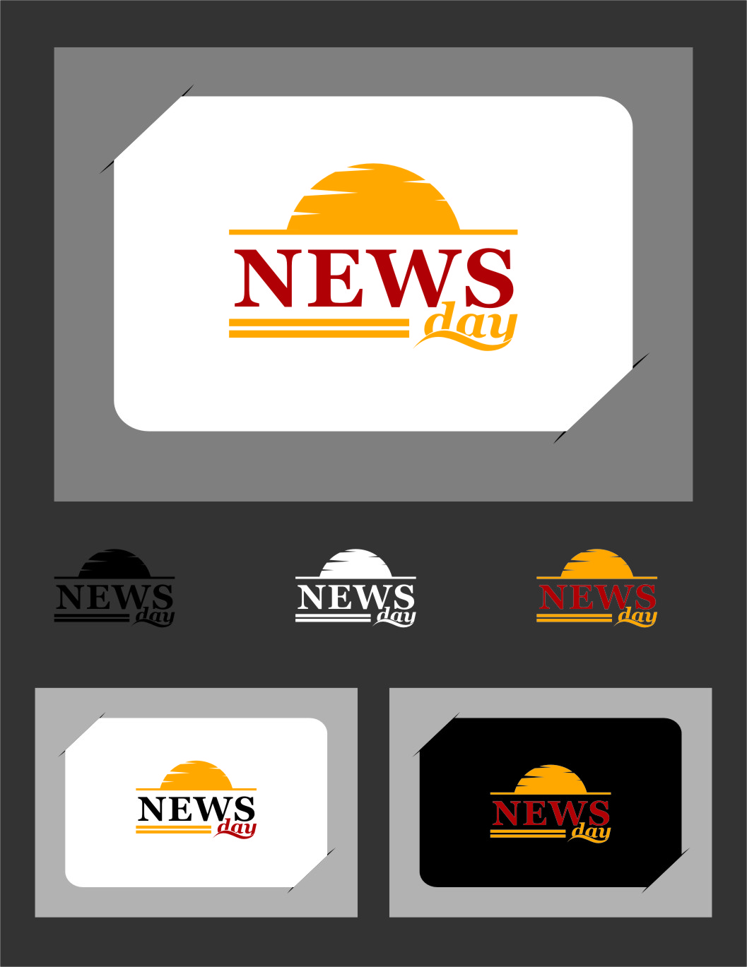 Logo Design by RasYa Muhammad Athaya - Entry No. 49 in the Logo Design Contest Artistic Logo Design for Newsday.