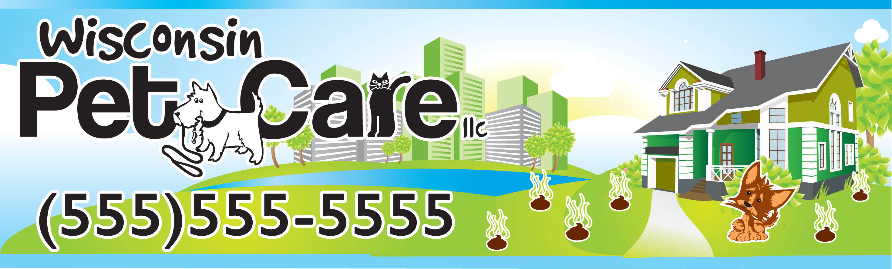 Logo Design by Hector Martinez - Entry No. 24 in the Logo Design Contest Captivating Logo Design for Wisconsin Pet Care.