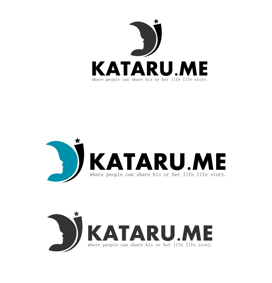 Logo Design by Private User - Entry No. 77 in the Logo Design Contest Inspiring Logo Design for KATARU.ME.