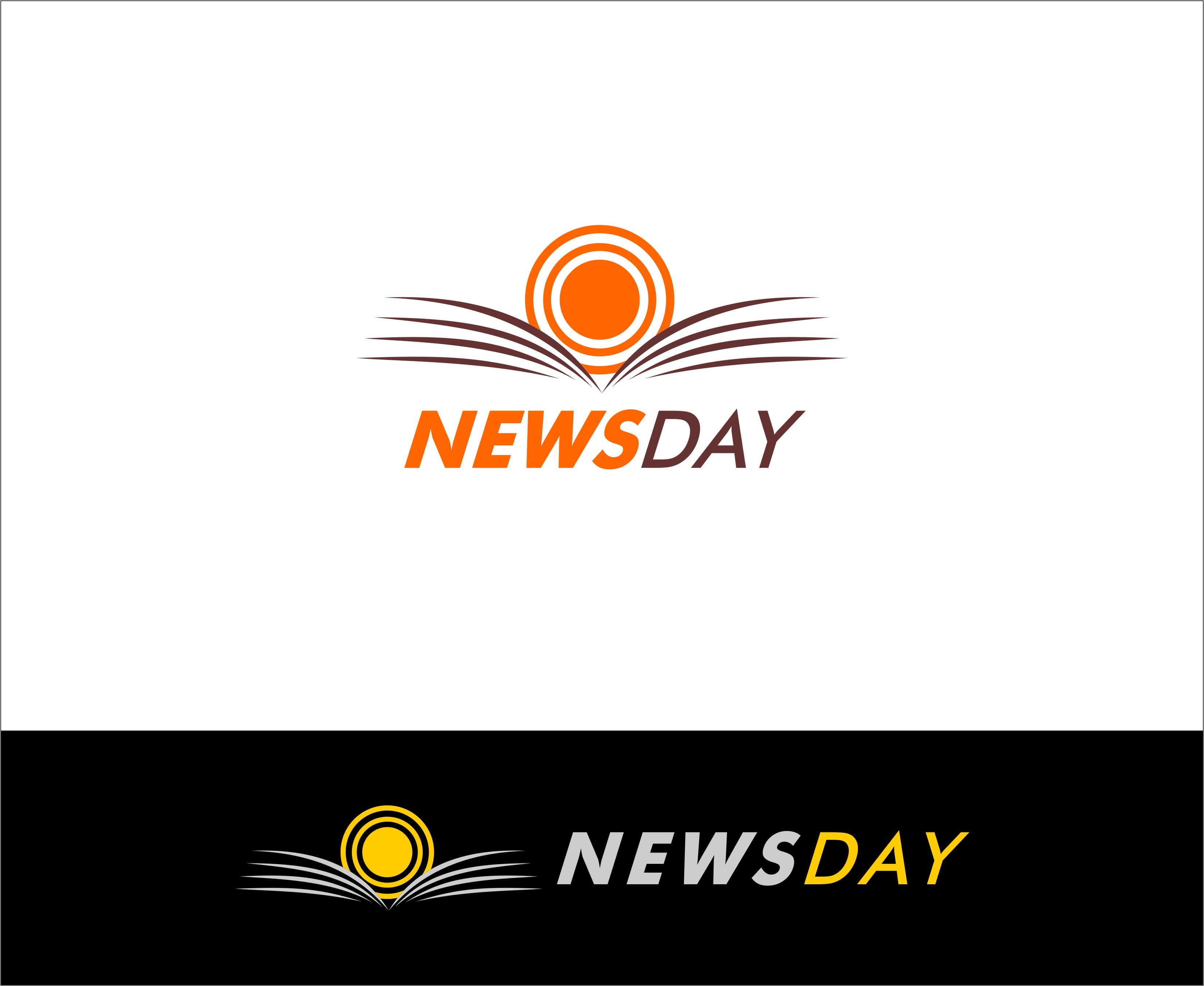 Logo Design by Mhon_Rose - Entry No. 50 in the Logo Design Contest Artistic Logo Design for Newsday.