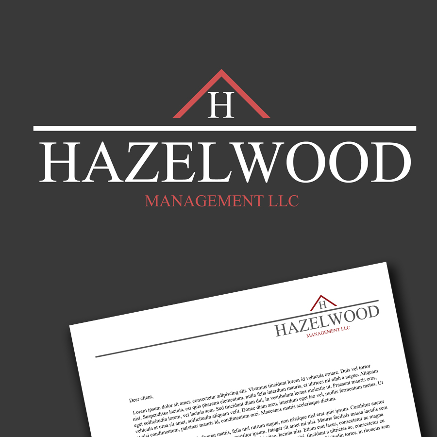 Logo Design by KoenU - Entry No. 54 in the Logo Design Contest Hazelwood Management LLC Logo Design.