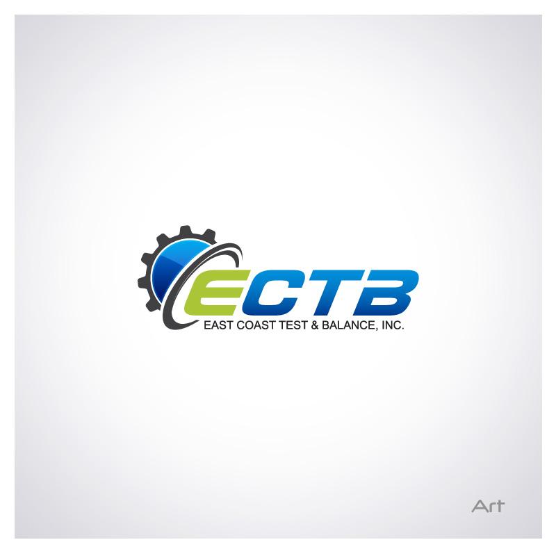 Logo Design by Puspita Wahyuni - Entry No. 42 in the Logo Design Contest Logo Design for East Coast Test & Balance, Inc. (ECTB).
