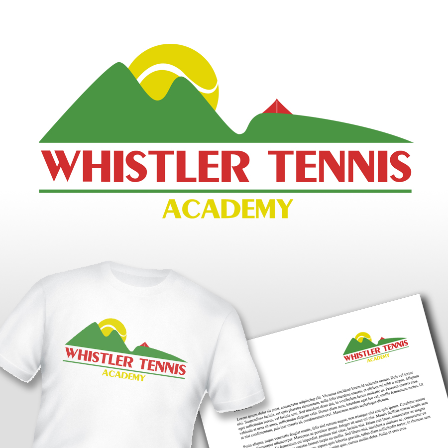 Logo Design by KoenU - Entry No. 4 in the Logo Design Contest Imaginative Logo Design for Whistler Tennis Academy.