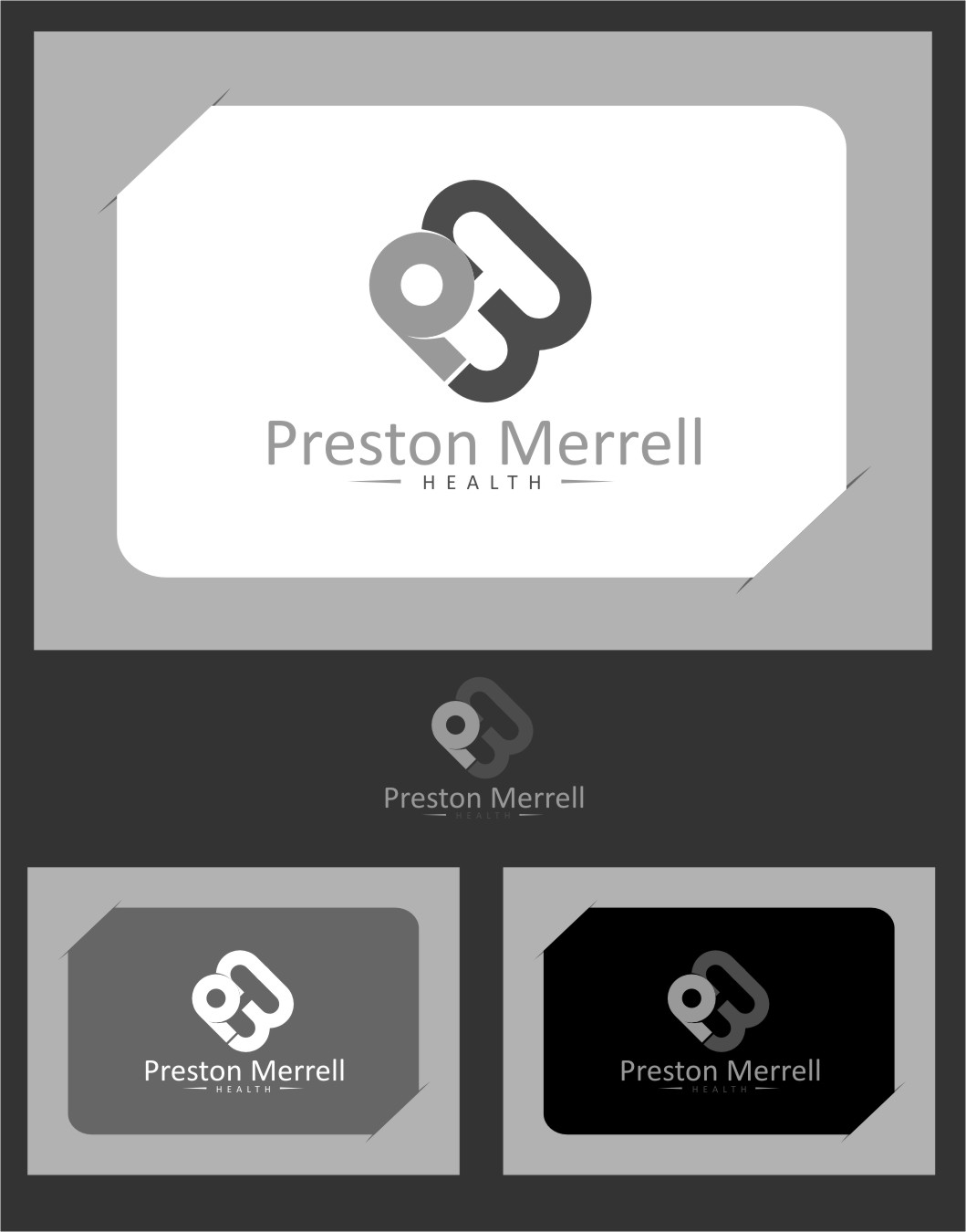 Logo Design by RasYa Muhammad Athaya - Entry No. 191 in the Logo Design Contest Creative Logo Design for Preston Merrell Health.