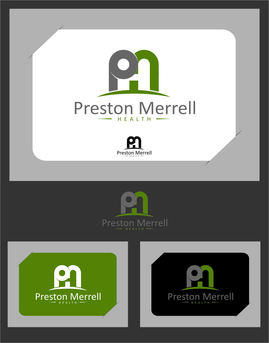 Logo Design by Ngepet_art - Entry No. 192 in the Logo Design Contest Creative Logo Design for Preston Merrell Health.