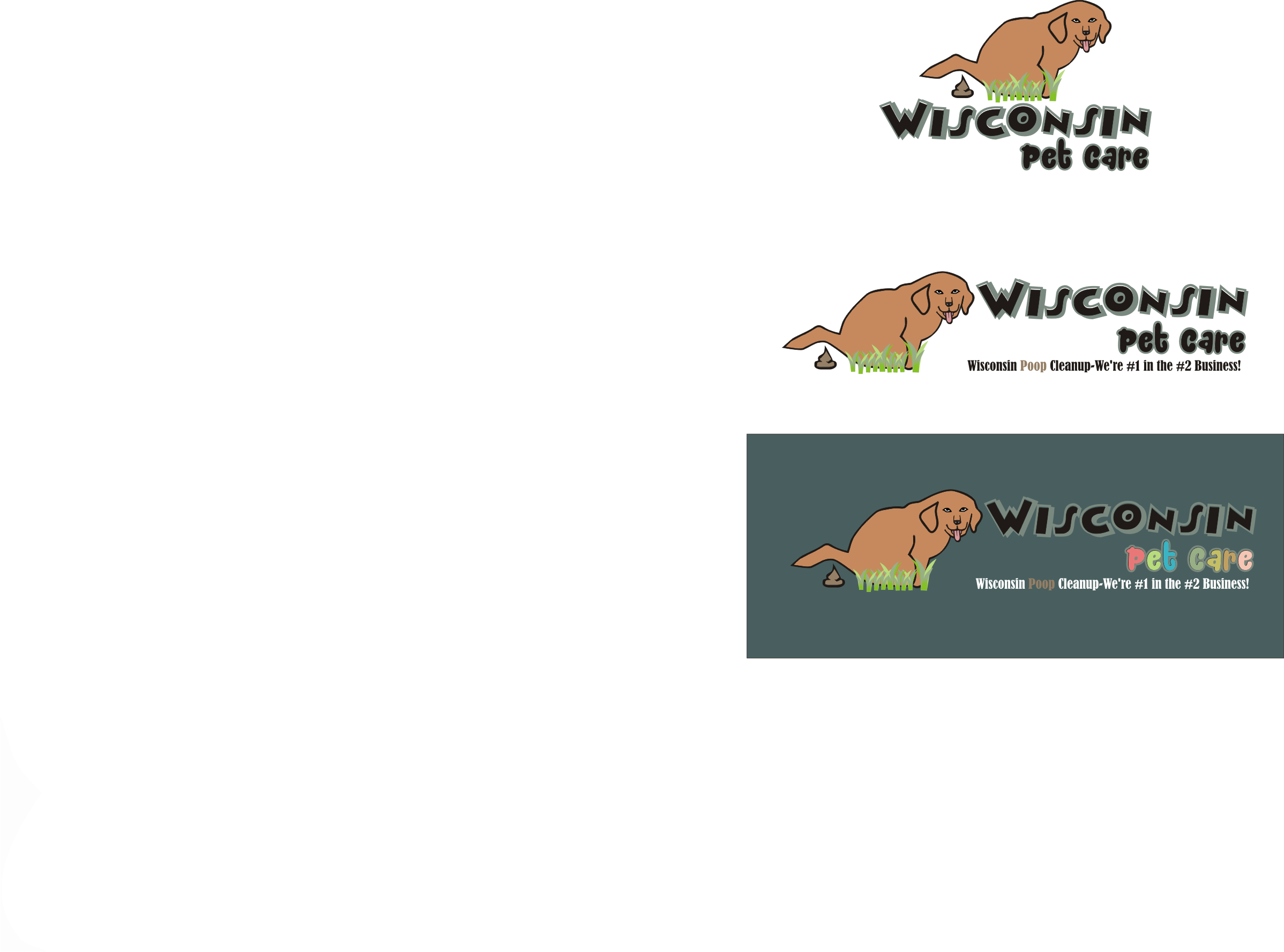 Logo Design by Nthus Nthis - Entry No. 29 in the Logo Design Contest Captivating Logo Design for Wisconsin Pet Care.