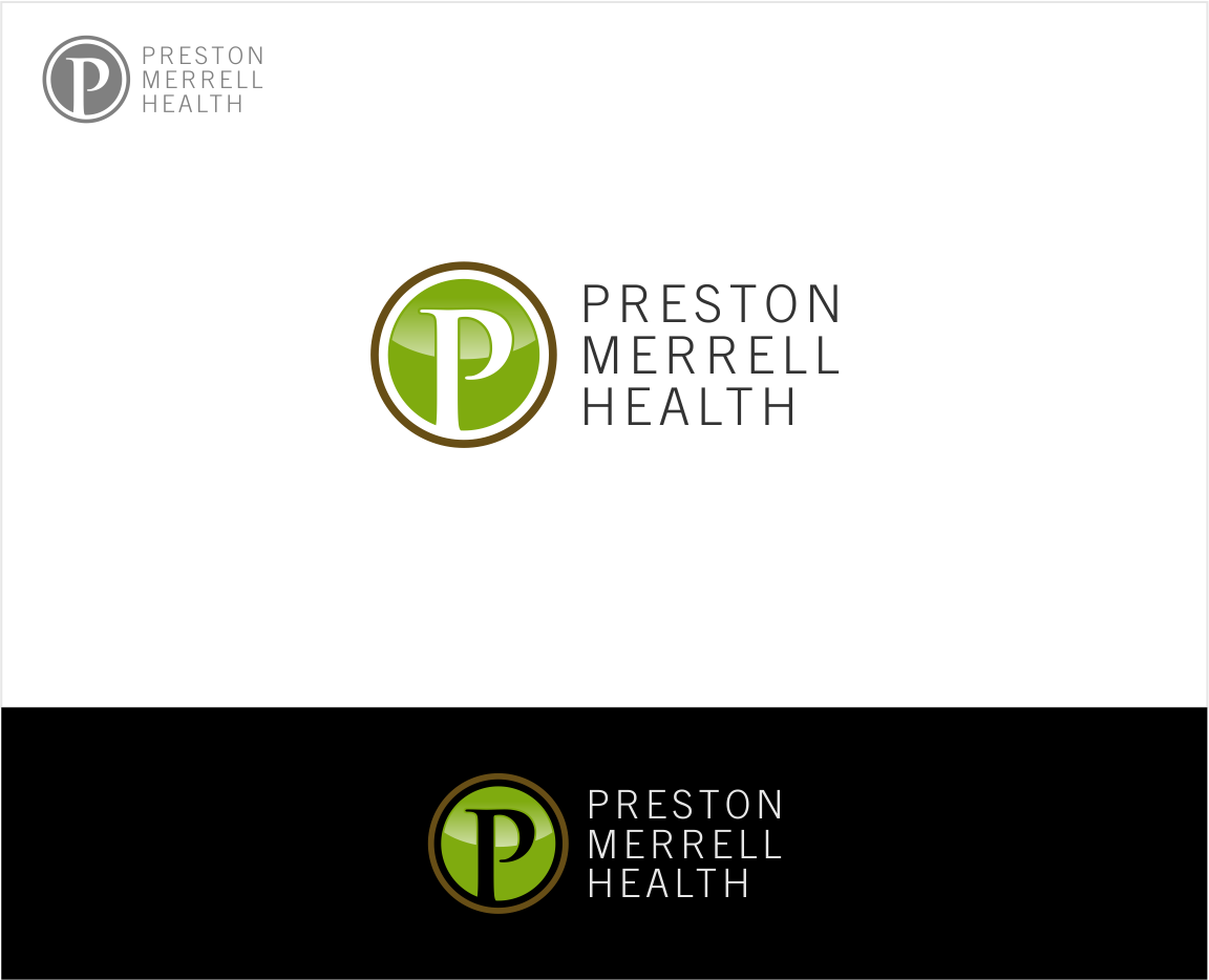 Logo Design by haidu - Entry No. 193 in the Logo Design Contest Creative Logo Design for Preston Merrell Health.
