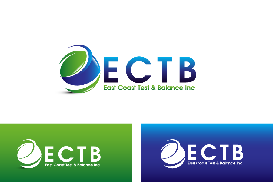 Logo Design by Private User - Entry No. 43 in the Logo Design Contest Logo Design for East Coast Test & Balance, Inc. (ECTB).
