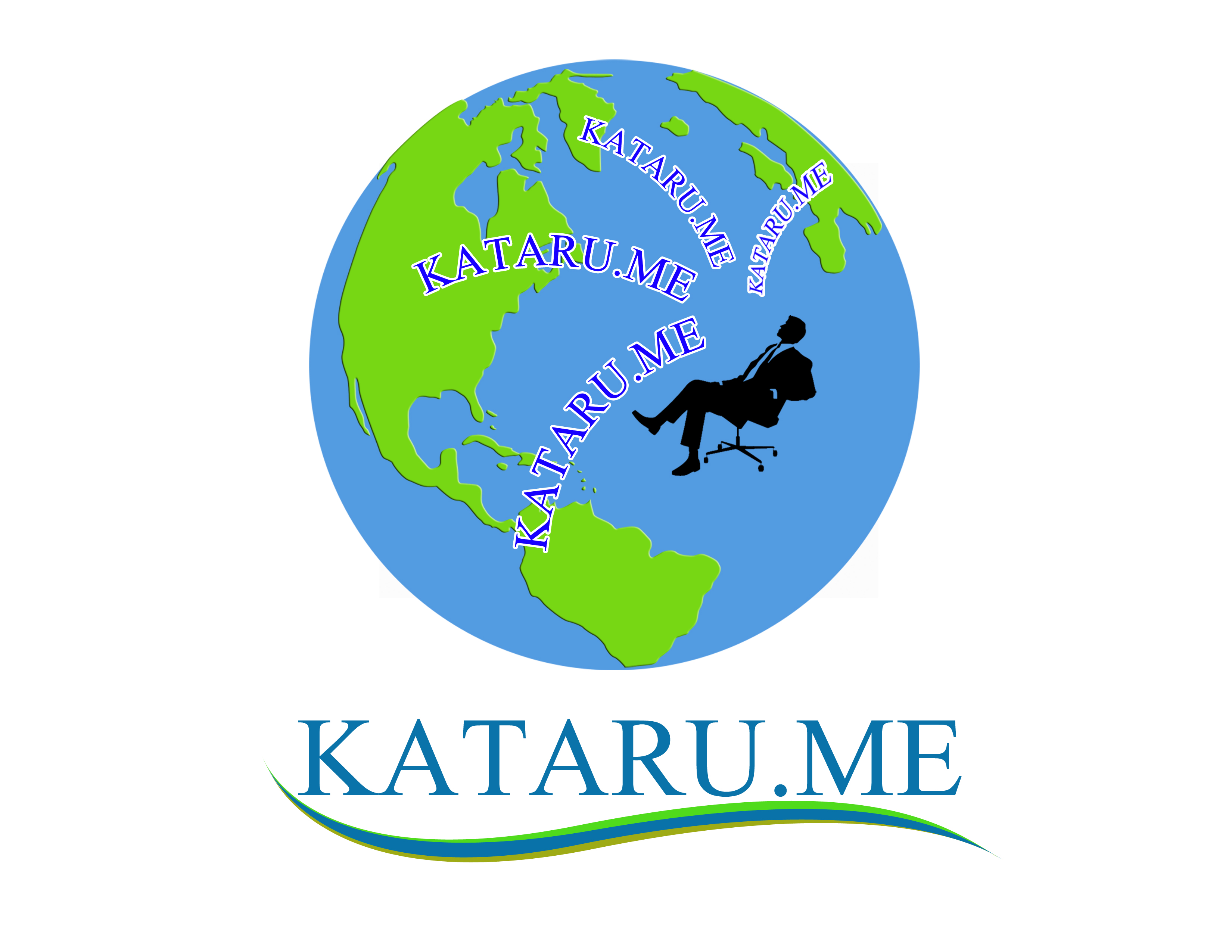 Logo Design by Jo Cres Jao - Entry No. 87 in the Logo Design Contest Inspiring Logo Design for KATARU.ME.