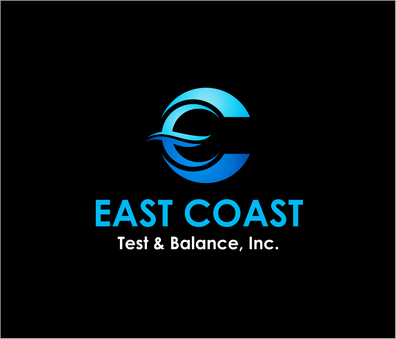 Logo Design by Armada Jamaluddin - Entry No. 47 in the Logo Design Contest Logo Design for East Coast Test & Balance, Inc. (ECTB).