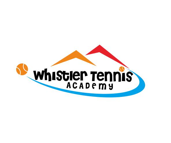 Logo Design by ronny - Entry No. 6 in the Logo Design Contest Imaginative Logo Design for Whistler Tennis Academy.