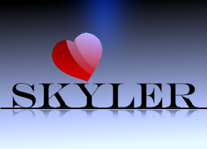 Logo Design by lalen - Entry No. 184 in the Logo Design Contest Skyler Clothing Logo.