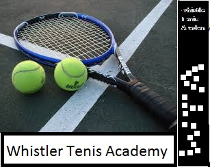 Logo Design by Fahad Ali - Entry No. 7 in the Logo Design Contest Imaginative Logo Design for Whistler Tennis Academy.