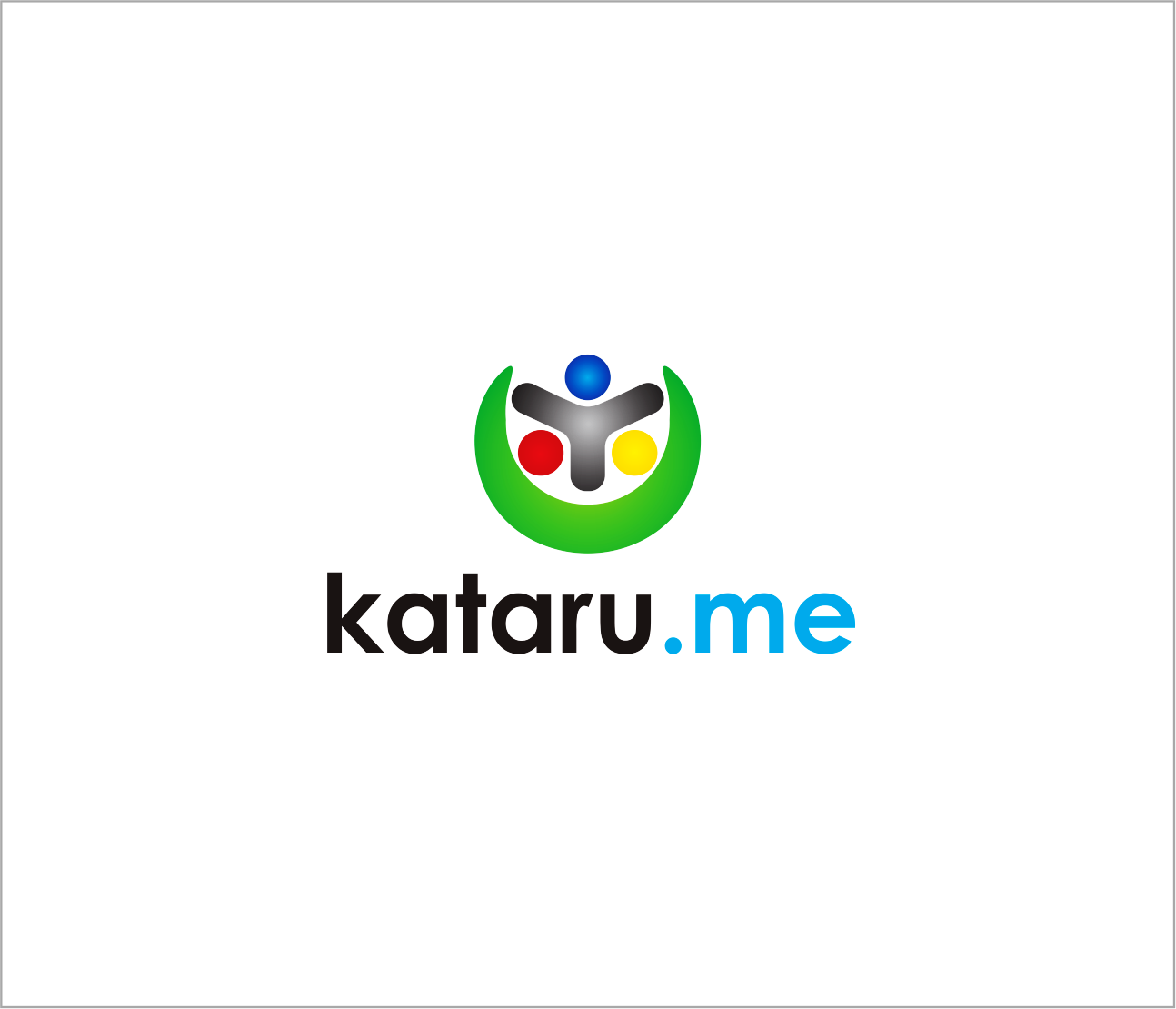 Logo Design by Armada Jamaluddin - Entry No. 91 in the Logo Design Contest Inspiring Logo Design for KATARU.ME.