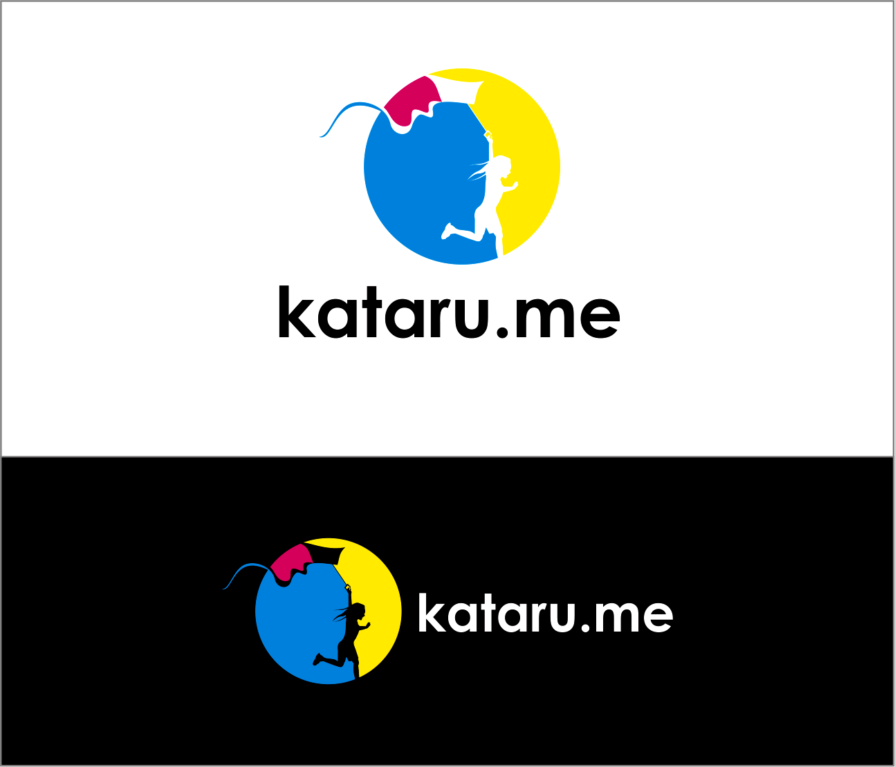 Logo Design by Armada Jamaluddin - Entry No. 93 in the Logo Design Contest Inspiring Logo Design for KATARU.ME.