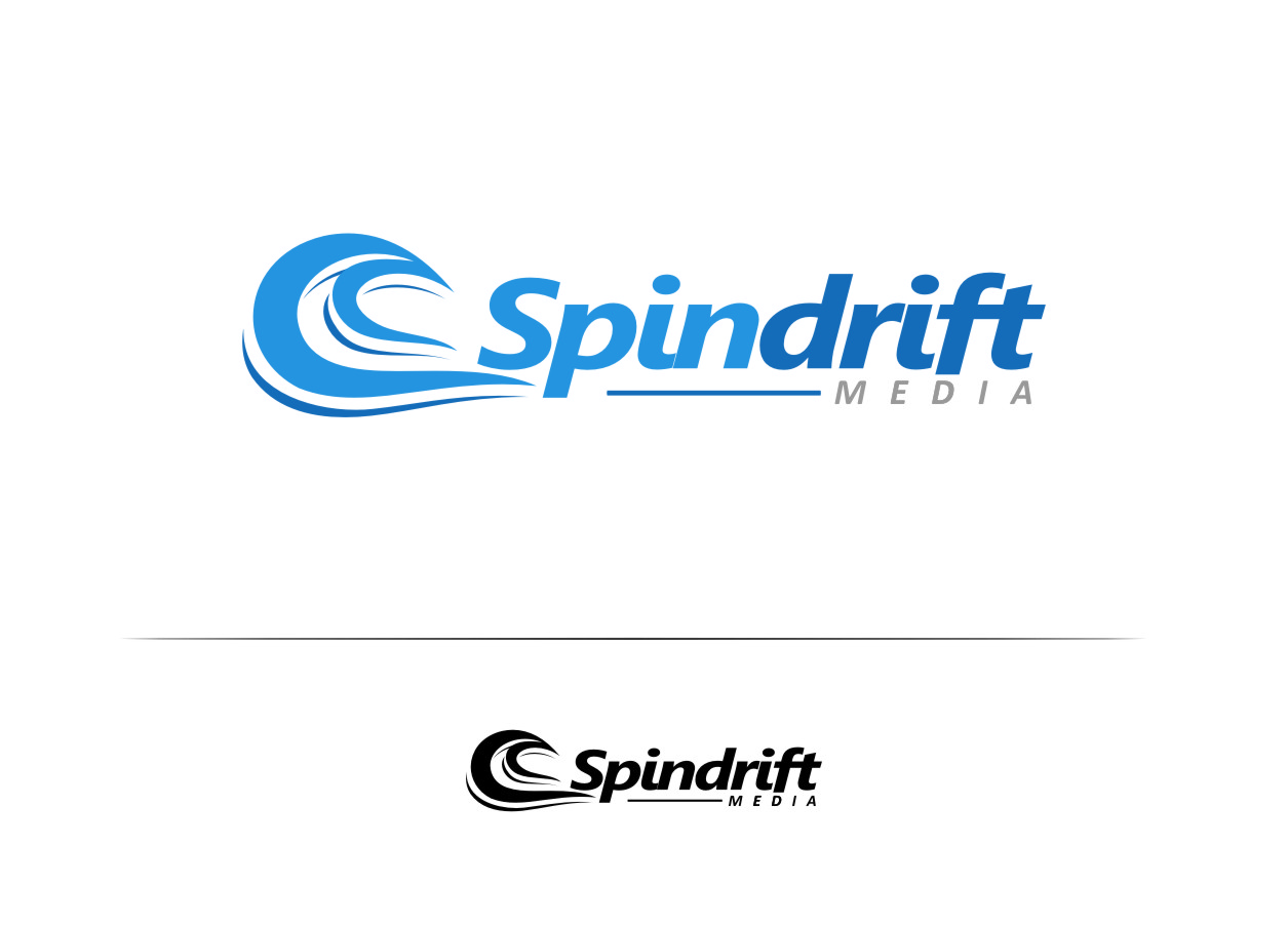 Logo Design by Ngepet_art - Entry No. 32 in the Logo Design Contest Inspiring Logo Design for Spindrift Media.