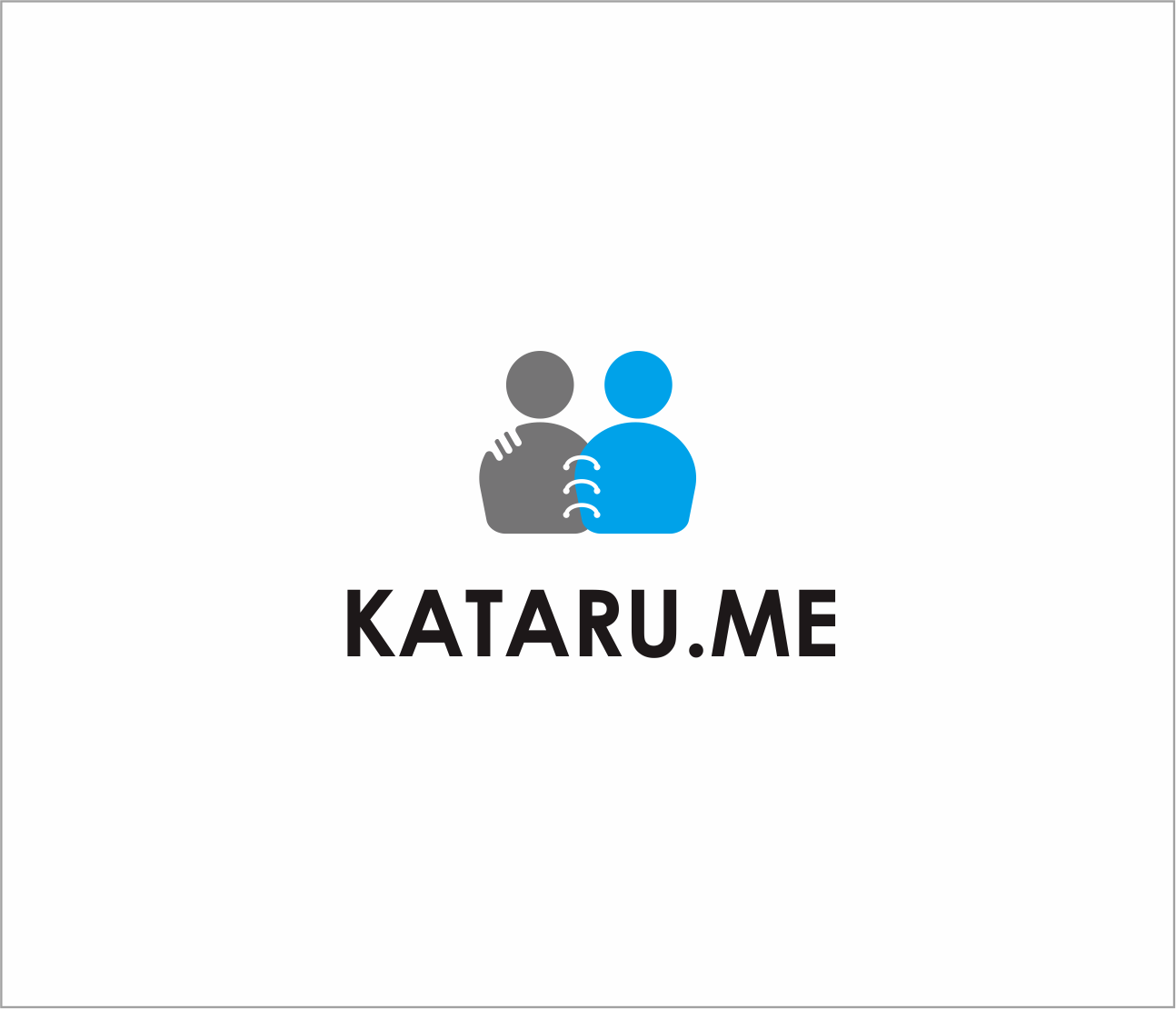 Logo Design by Armada Jamaluddin - Entry No. 94 in the Logo Design Contest Inspiring Logo Design for KATARU.ME.