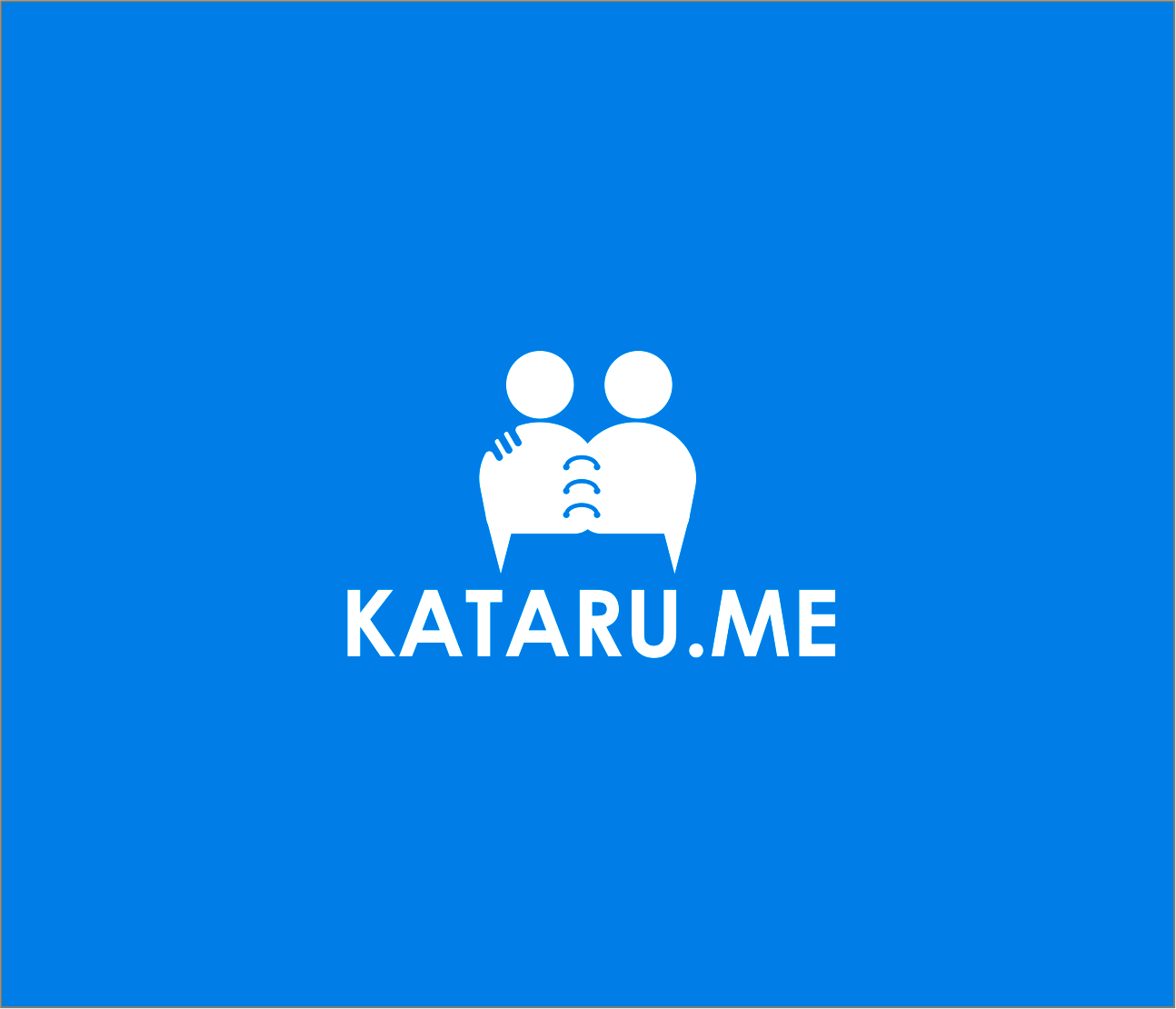 Logo Design by Armada Jamaluddin - Entry No. 95 in the Logo Design Contest Inspiring Logo Design for KATARU.ME.