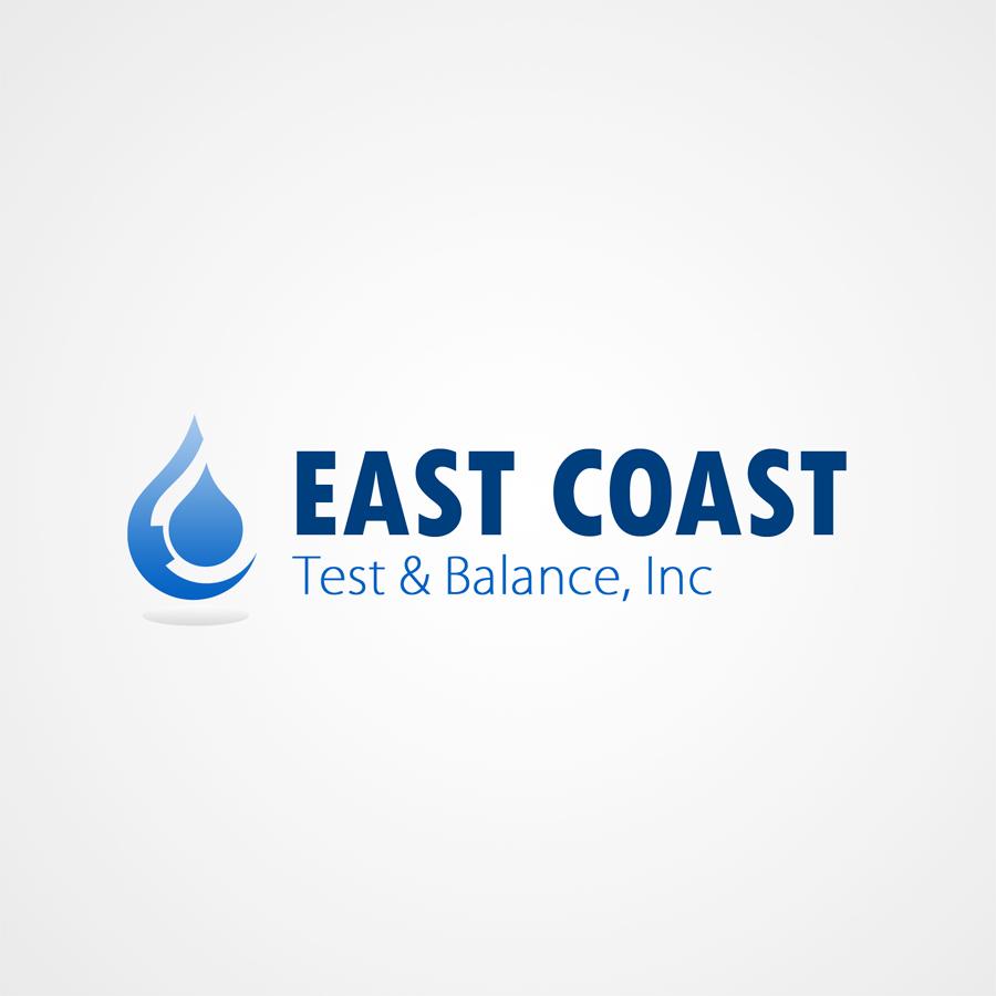 Logo Design by KoenU - Entry No. 51 in the Logo Design Contest Logo Design for East Coast Test & Balance, Inc. (ECTB).