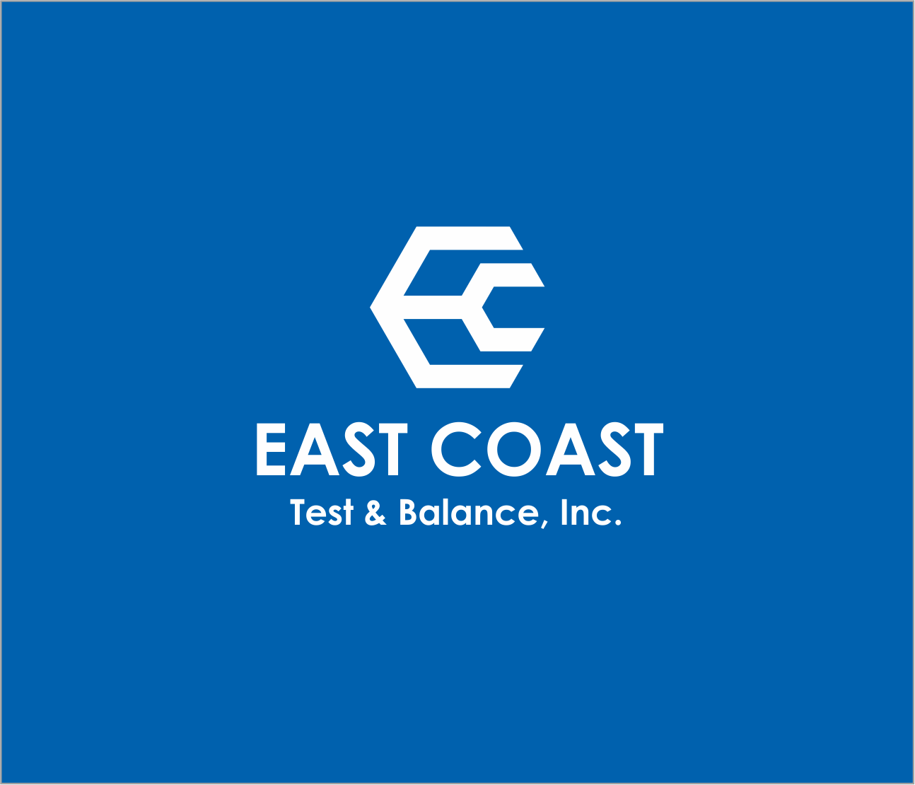 Logo Design by Armada Jamaluddin - Entry No. 52 in the Logo Design Contest Logo Design for East Coast Test & Balance, Inc. (ECTB).