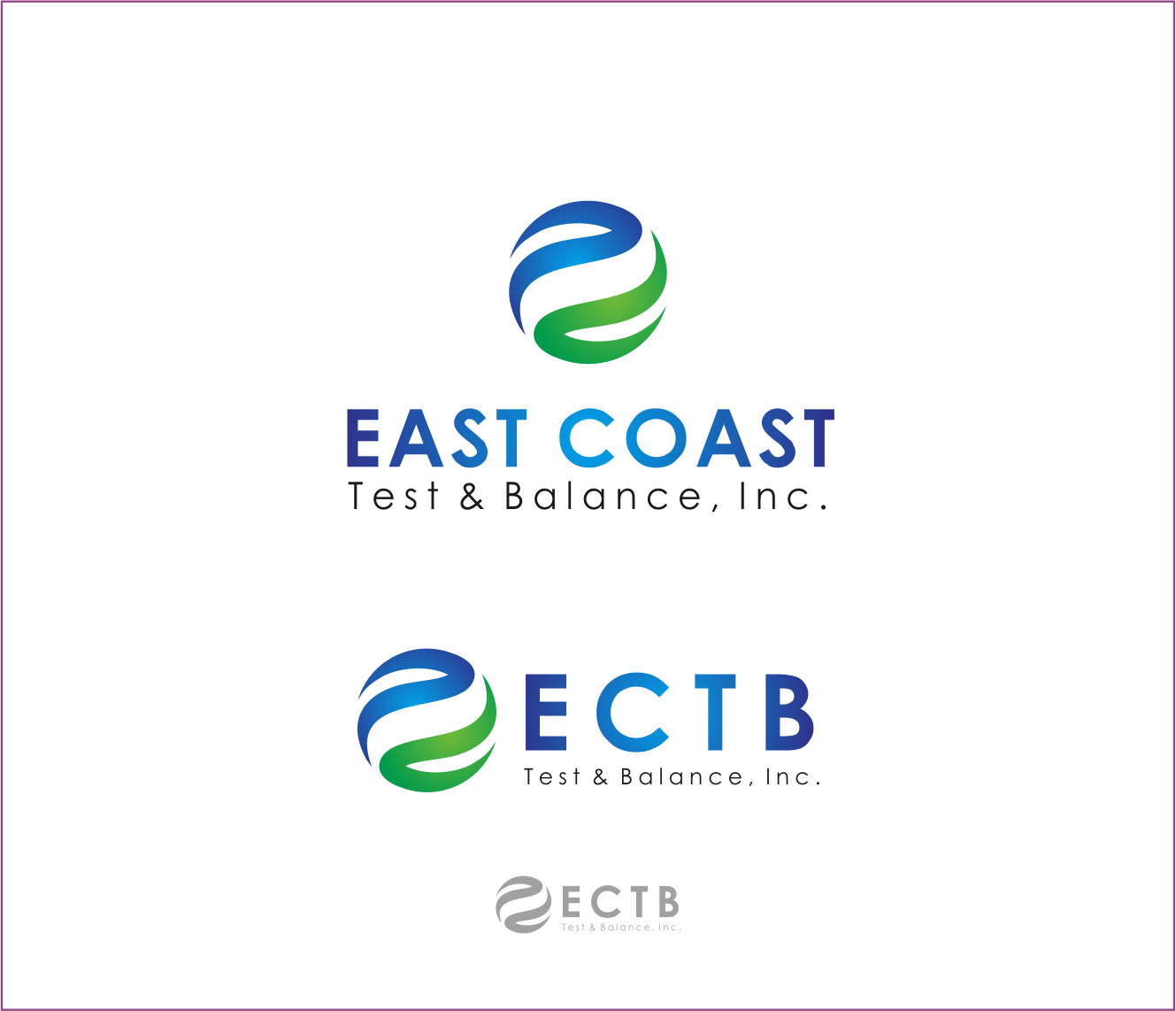 Logo Design by Armada Jamaluddin - Entry No. 56 in the Logo Design Contest Logo Design for East Coast Test & Balance, Inc. (ECTB).