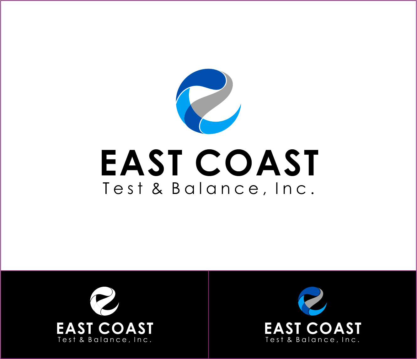 Logo Design by Armada Jamaluddin - Entry No. 57 in the Logo Design Contest Logo Design for East Coast Test & Balance, Inc. (ECTB).