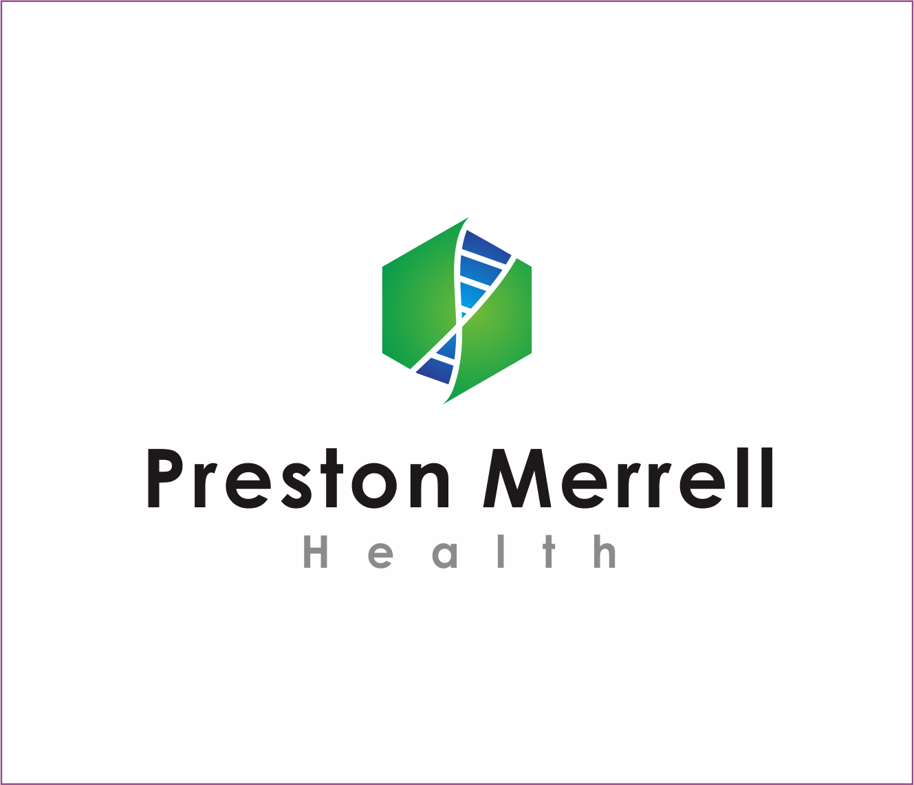 Logo Design by Armada Jamaluddin - Entry No. 211 in the Logo Design Contest Creative Logo Design for Preston Merrell Health.