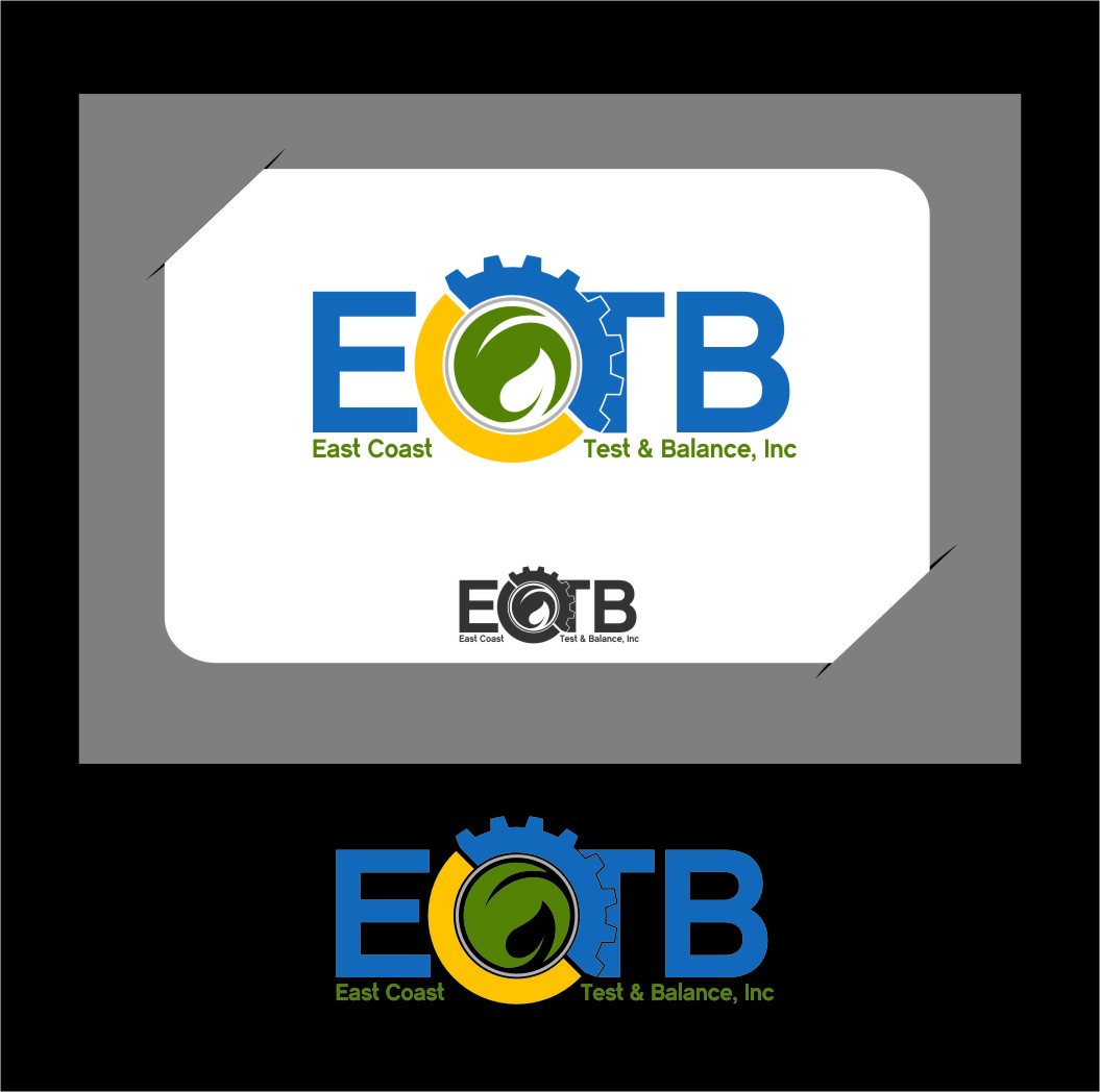 Logo Design by RasYa Muhammad Athaya - Entry No. 60 in the Logo Design Contest Logo Design for East Coast Test & Balance, Inc. (ECTB).