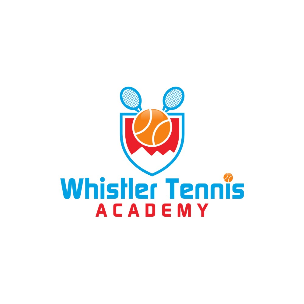 Logo Design by untung - Entry No. 8 in the Logo Design Contest Imaginative Logo Design for Whistler Tennis Academy.