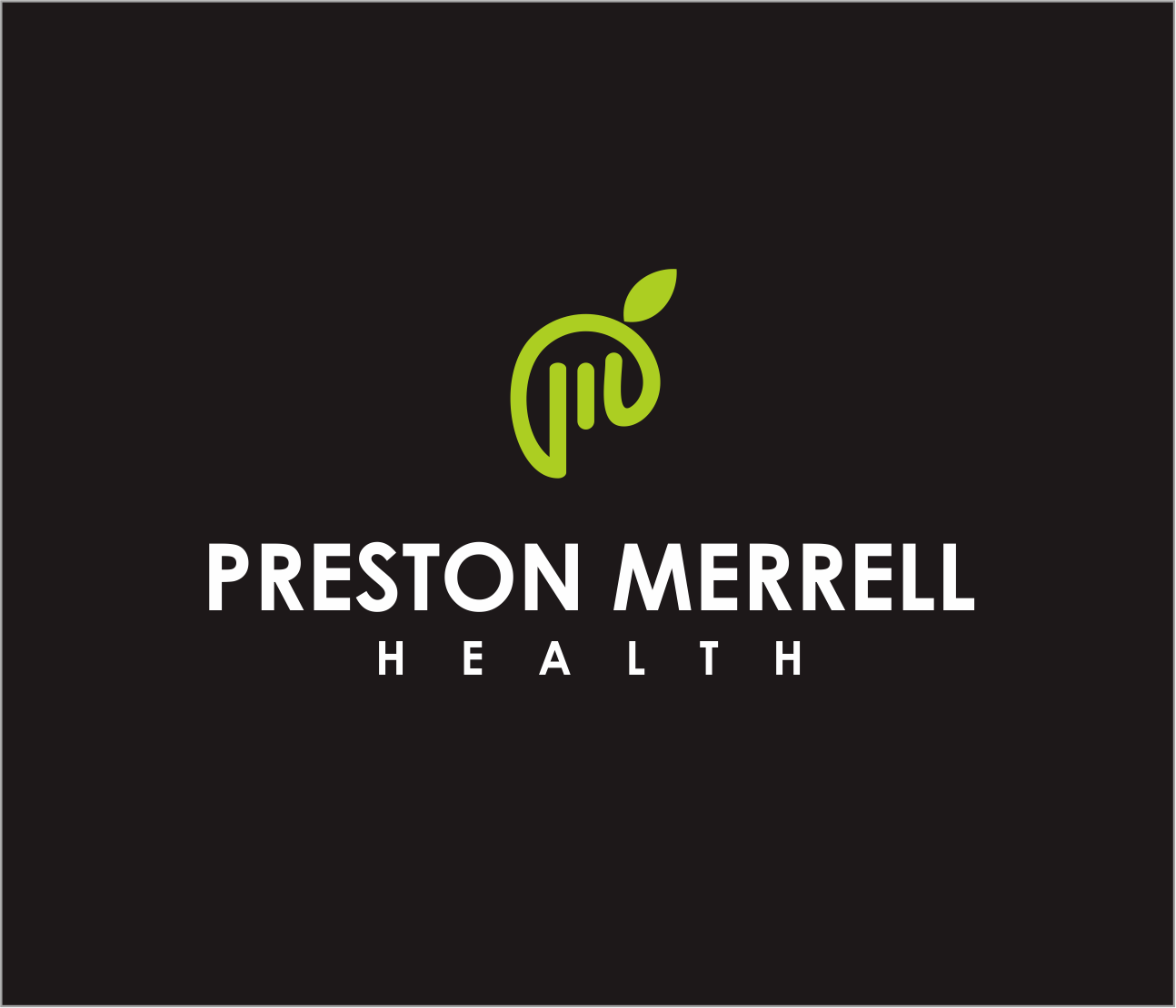 Logo Design by Armada Jamaluddin - Entry No. 212 in the Logo Design Contest Creative Logo Design for Preston Merrell Health.