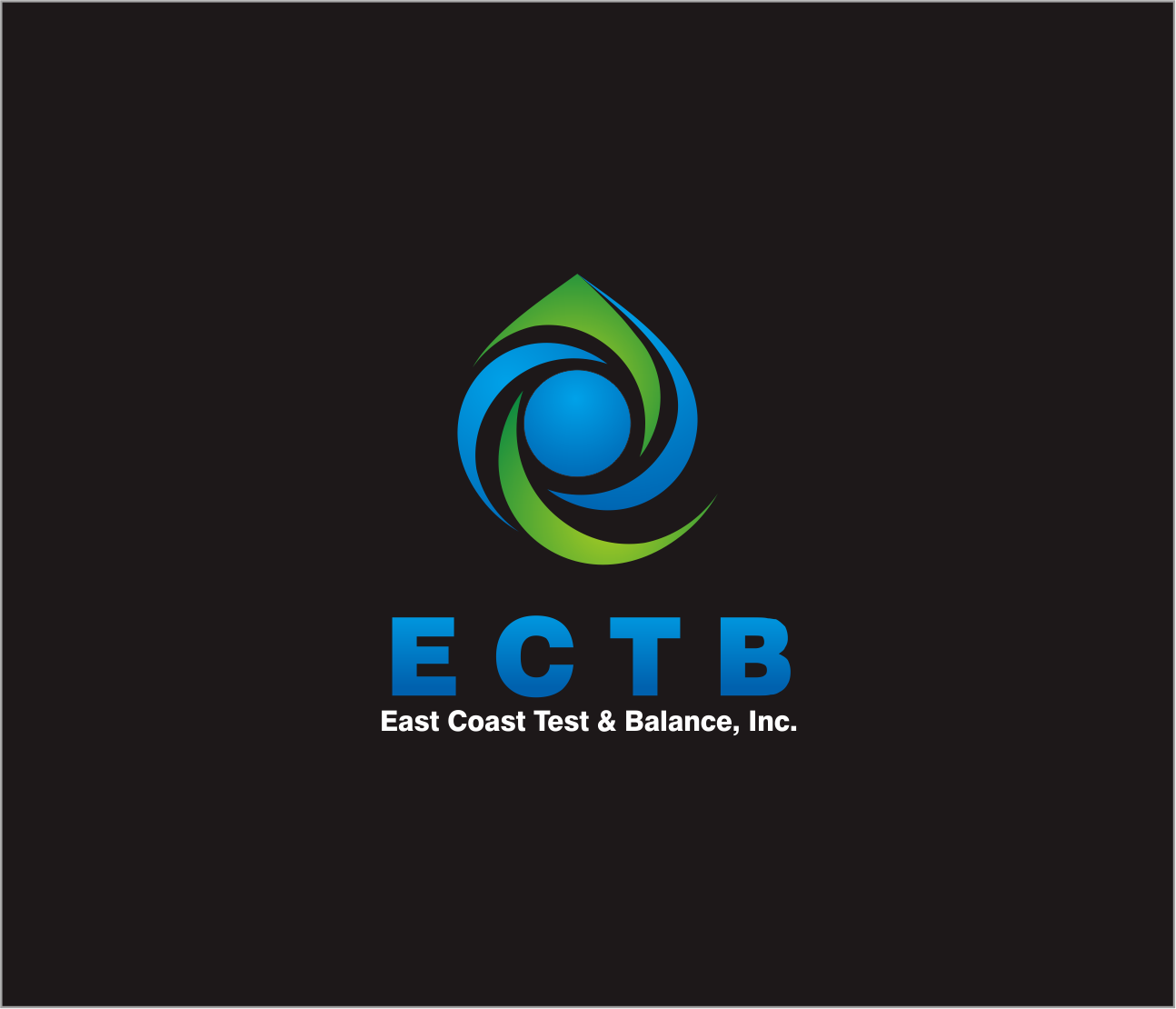 Logo Design by Armada Jamaluddin - Entry No. 61 in the Logo Design Contest Logo Design for East Coast Test & Balance, Inc. (ECTB).