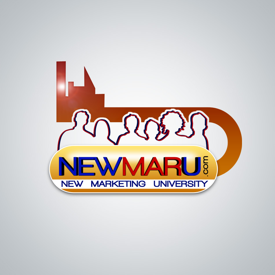 Logo Design by Renier  Bajala - Entry No. 155 in the Logo Design Contest NewMarU.com (New Marketing University).