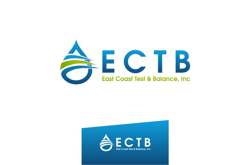 Logo Design by untung - Entry No. 63 in the Logo Design Contest Logo Design for East Coast Test & Balance, Inc. (ECTB).