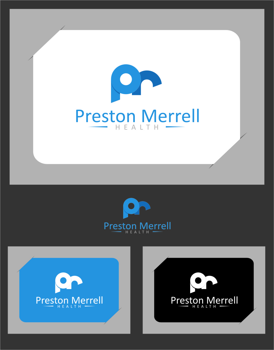 Logo Design by RoSyid Rono-Rene On Java - Entry No. 213 in the Logo Design Contest Creative Logo Design for Preston Merrell Health.